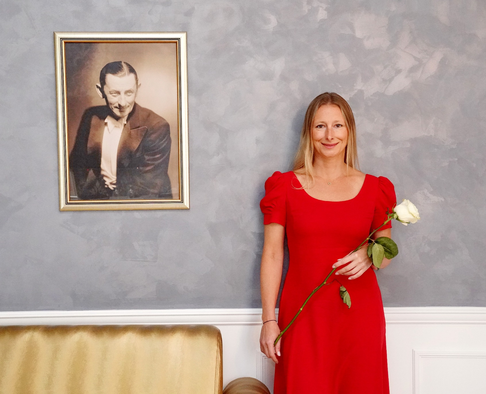 Pravnučka Vlasty Buriana Monika Kristl pokřtila nový apartmán v Tatrách