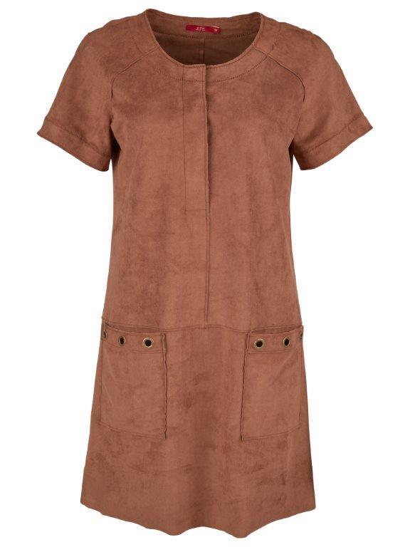 Šaty se vzhledem semiše Esprit 1999,- Kč