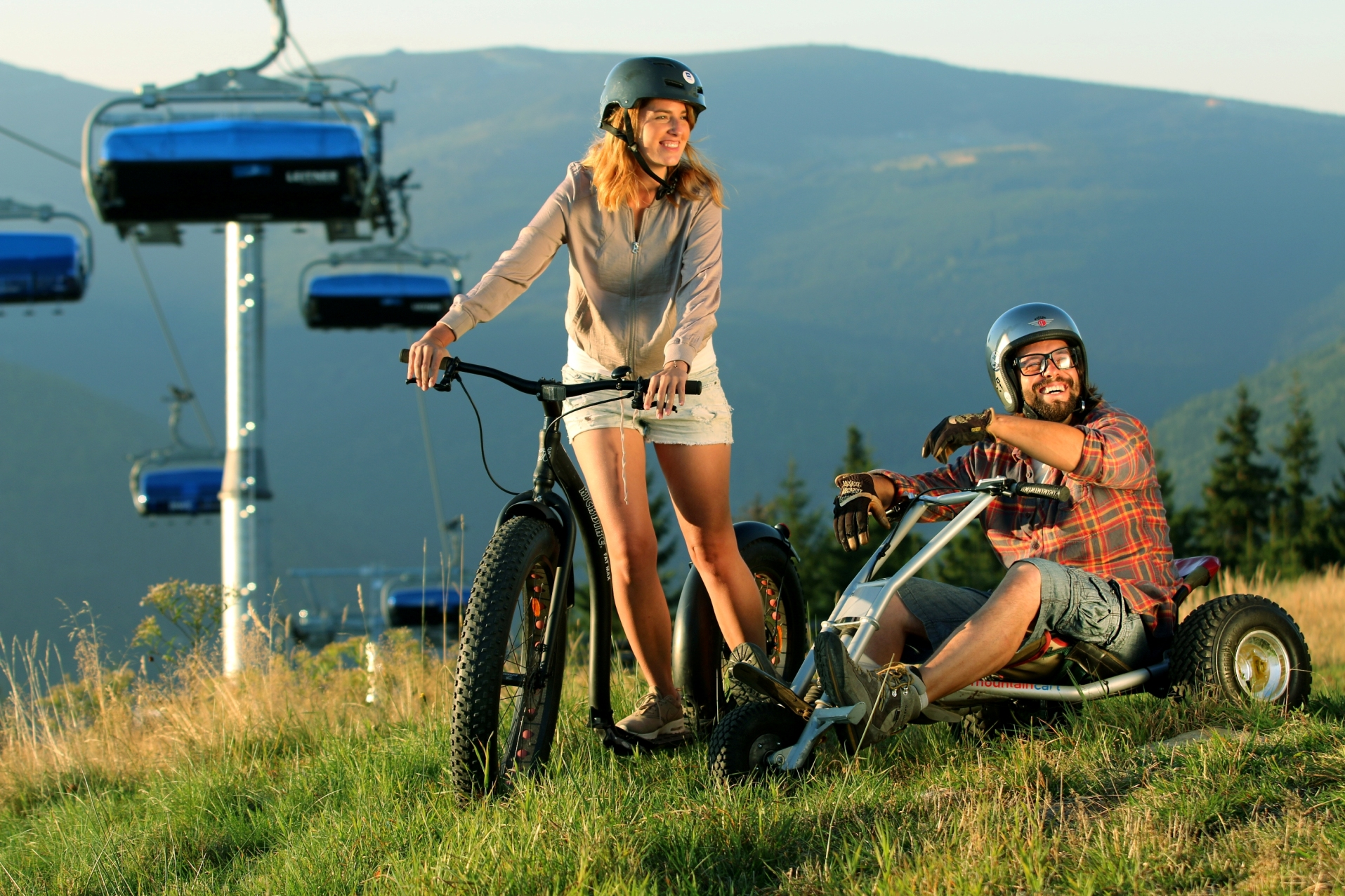cestování / Skiareál ve Špindlu nabízí spoustu aktivit a zábavy i v létě