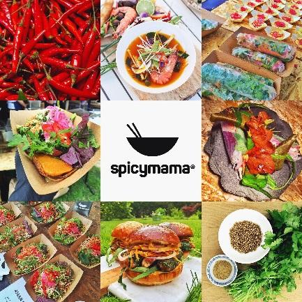 Spicymama prezentuje širokou nabídku pokrmů například z Vietnamu, Thajska, ale i Peru