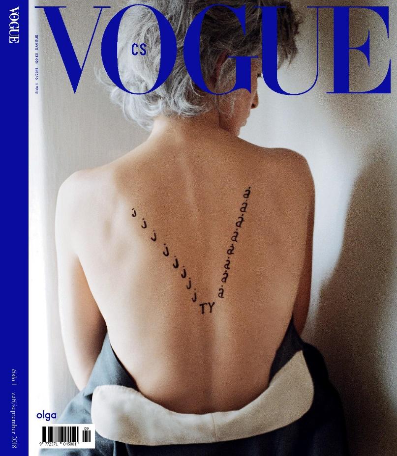 Móda / Titulní strana Vogue je věnována památce disidentky a bývalé první dámy Olgy Havlové