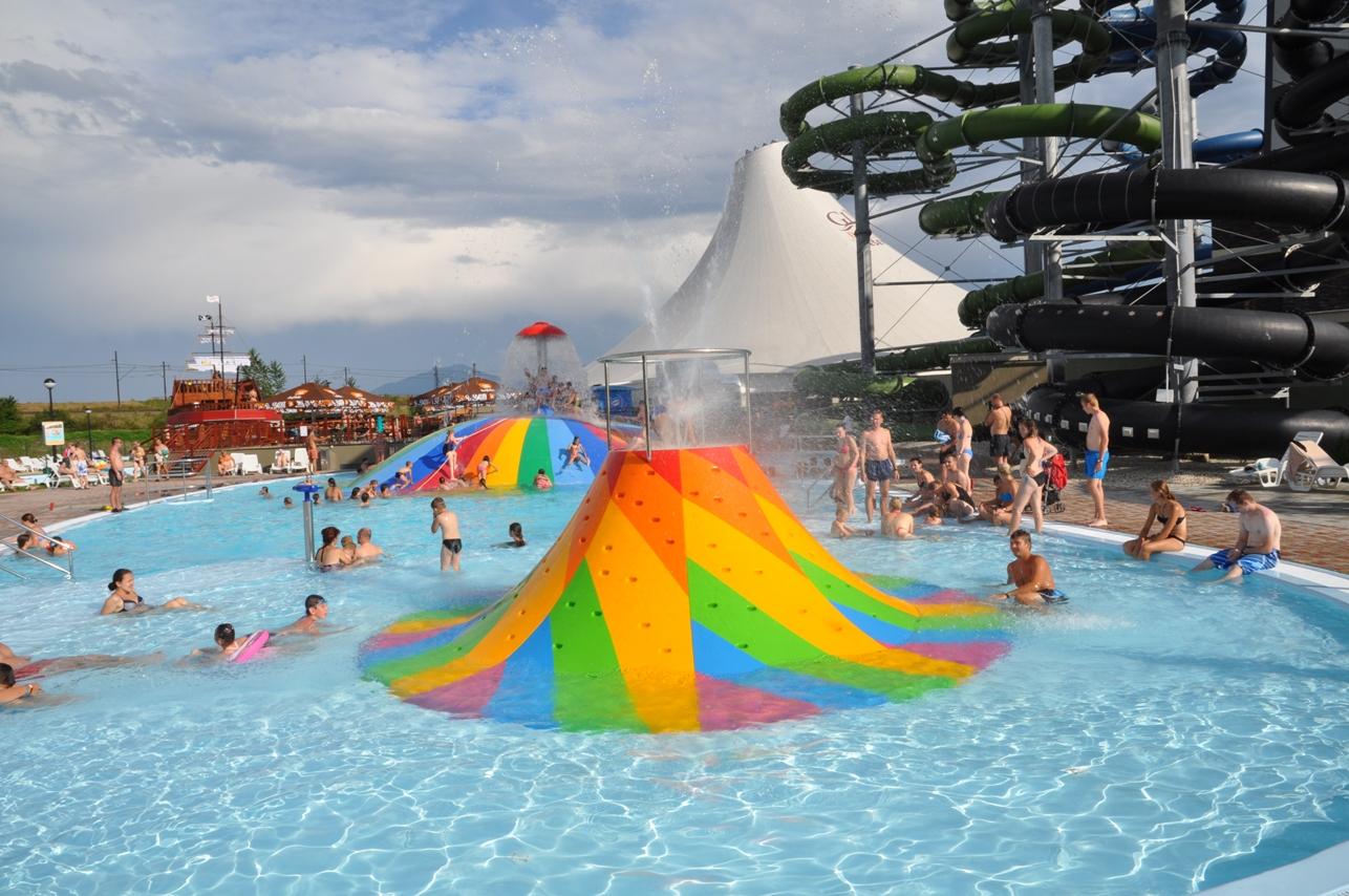 Vodní ráj v Bešeňové si oblíbily stovky Čechů
