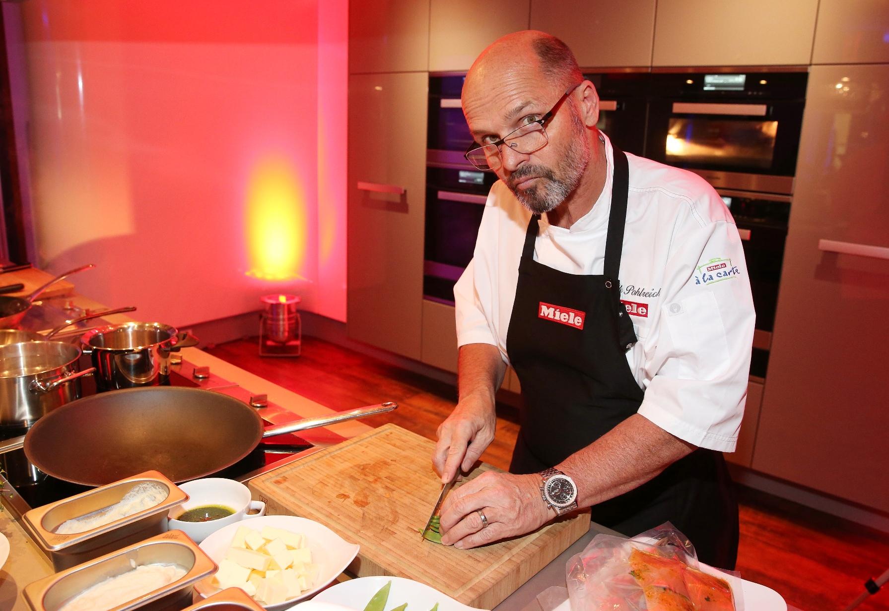 Zdeněk Pohlreich předvedl živou kuchařskou show