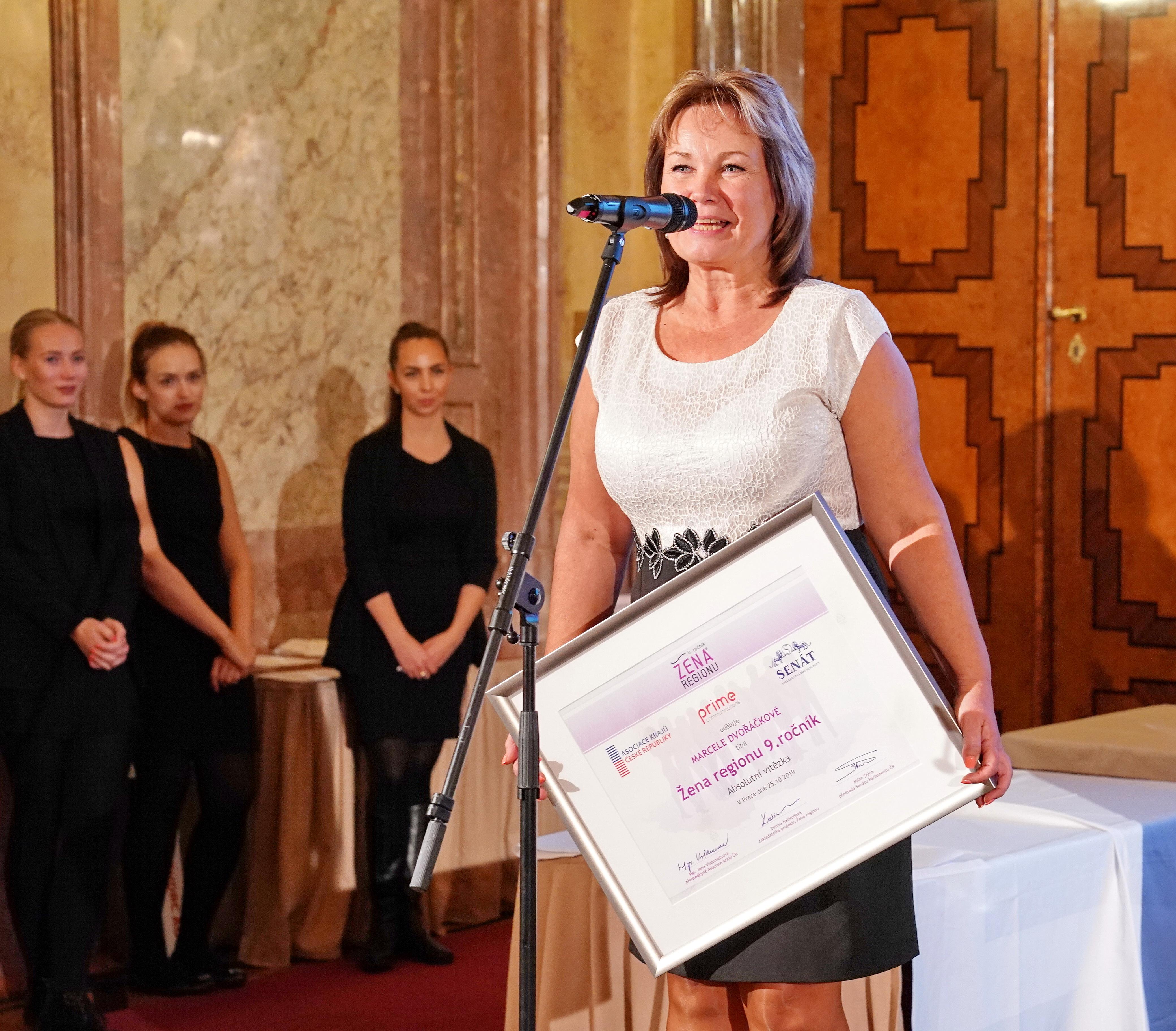 Kultura / Žena regionu má absolutní vítězku - Marcelu Dvořáčkovou.